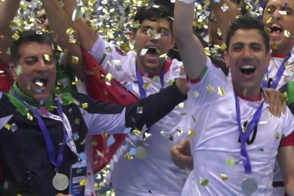 #AFCFutsal2018 - Trophy Lift