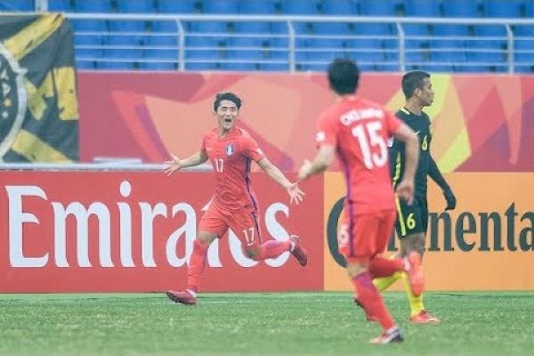 Korea Republic 2-1 Malaysia (AFC U23 Championship 2018: Quarter-finals)