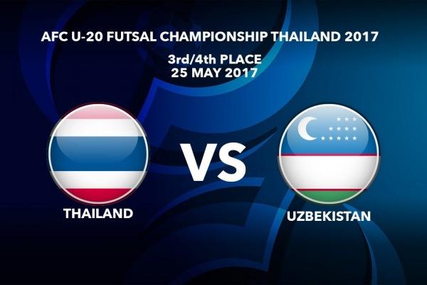 M52 3rd/4th Place Thailand vs Uzbekistan