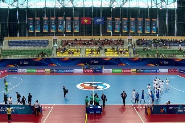 Bank of Beirut vs Bluewave Chonburi(AFC Futsal Club Championship 2017)