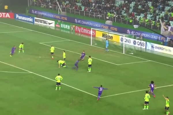Great Goals from the AFC Champions League Finals 1st Leg: Danilo Asprilla (2016)