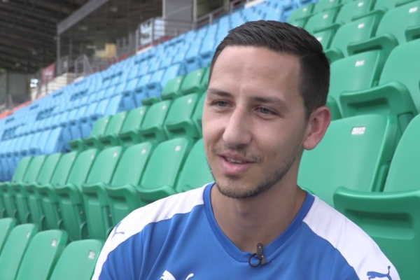 Stipe Plazibat: I will do my talking on the pitch