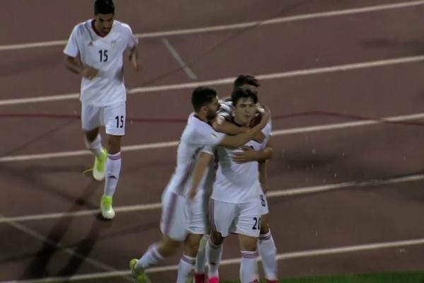 Sardar Azmoun equalises for Iran!