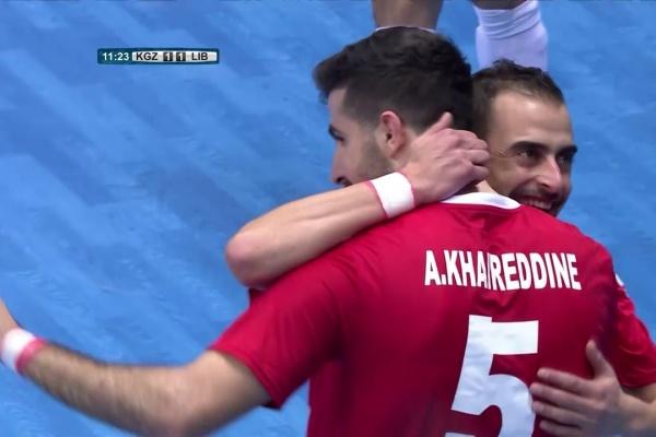 Kyrgyz Republic 2-2 Lebanon (AFC Futsal Championship 2018: Group Stage)