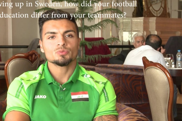Ahmed Yasin explains how playing in Sweden boosted his development