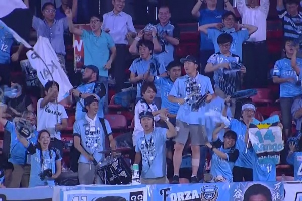 Kengo Nakamura equalises for Kawasaki Frontale!