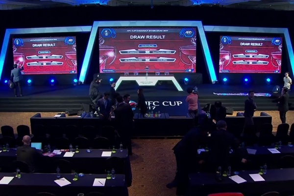 AFC Cup 2017 - Official Draw