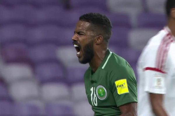 Nawaf Al Abid opens the scoring for Saudi Arabia!