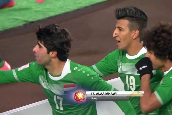 Alaa Mhawi makes it 3-0 to Iraq!