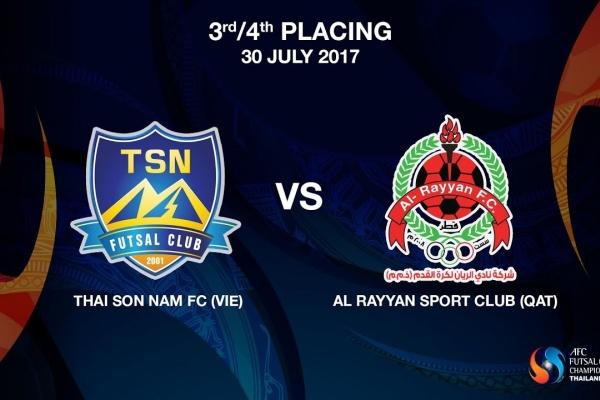 M25 - Thai Son Nam FC (VIE) vs AL RAYYAN SPORT CLUB (QAT)