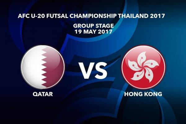 #AFCU20FC THAILAND 2017 - M28 Qatar vs Hong Kong - Highlights