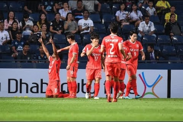 Buriram United 0-2 Jeju United (AFC Champions League 2018: Group Stage)