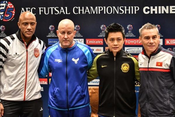 #afcfutsal2018 - Pre-Match Press Conference Group A