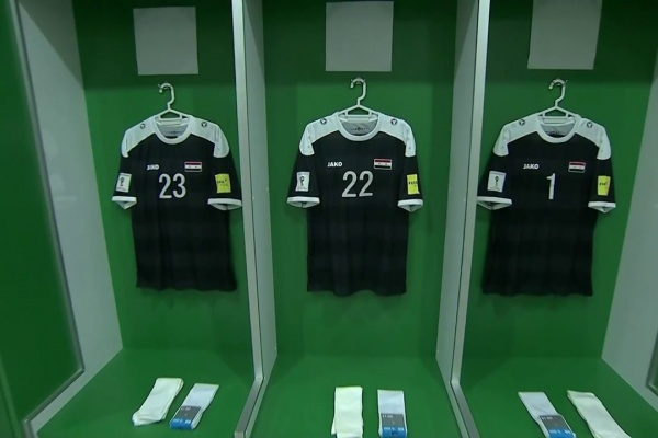 Inside the dressing rooms of Syria and Australia