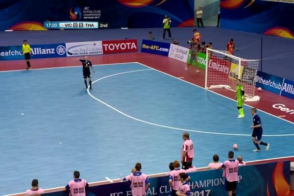 Vic Vipers vs Thai Son Nam (AFC Futsal Club Championship 2017)