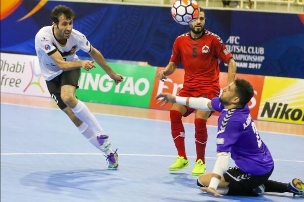 Sanaye Giti Pasand vs Al Rayyan (AFC Futsal Club Championship 2017 – Semi-Finals)