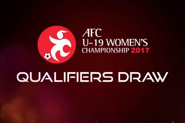 AFC U-19 Women's Championship 2017 - Qualifiers Draw