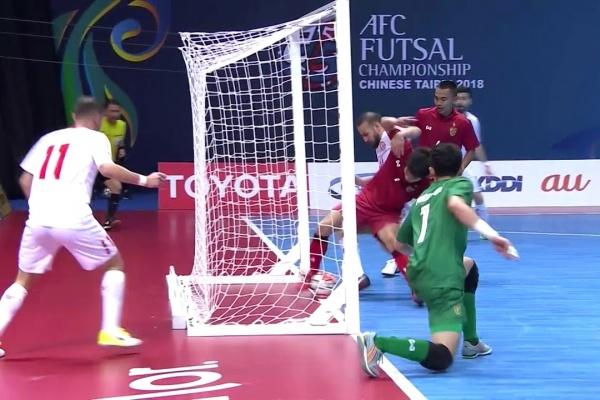 Lebanon 5-2 Thailand (AFC Futsal Championship 2018: Group Stage)